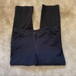 Lane Bryant Black Pants Size 18 Regular